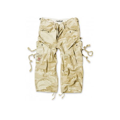 Surplus Engineer vintage 3/4 shortsit, Desert camo